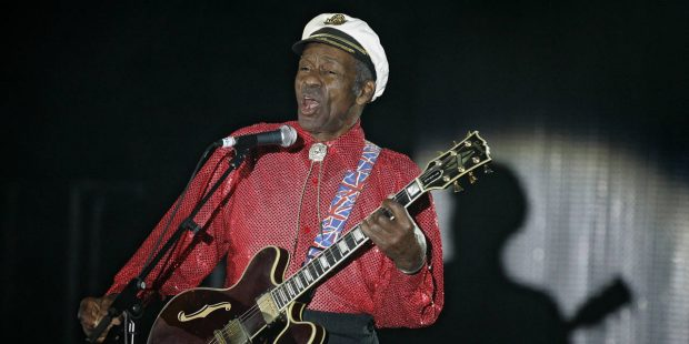 Music superstars saddened by death of 'giant for the ages' Chuck Berry