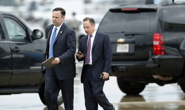 President Trump To Reince Priebus: You're Fired