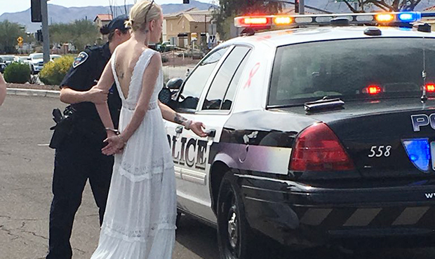 Bride en route to wedding arrested for DUI in Arizona