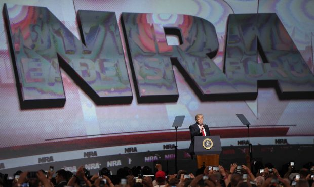 Trump tells NRA supporters he's got their backs