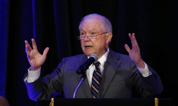 US Attorney General Jeff Sessions in San Diego